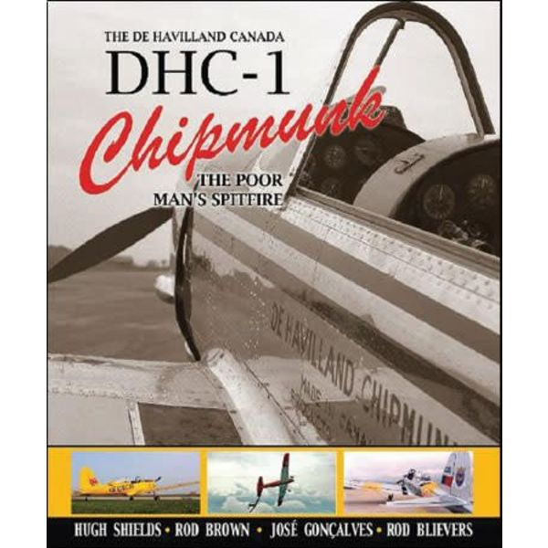 DEHAVILLAND CANADA DHC1 CHIPMUNK:POOR HC
