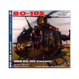 Wings & Wheels Publications BO105 IN DETAIL:PAL#10 SC**O/p**++SALE++