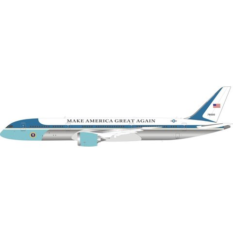 B787-9 Dreamliner US Air Force USAF Make America Great 78000 1:200 With Stand