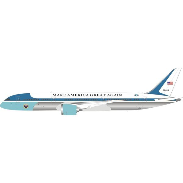 InFlight B787-9 Dreamliner US Air Force USAF Make America Great 78000 1:200 With Stand