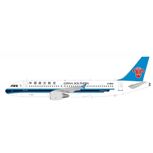 InFlight A320 China Southern B-9930 1:200 with stand