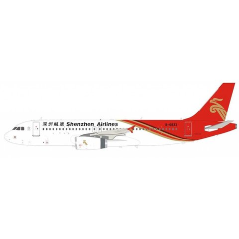 A320 Shenzhen Airlines B-6833 1:200 with stand