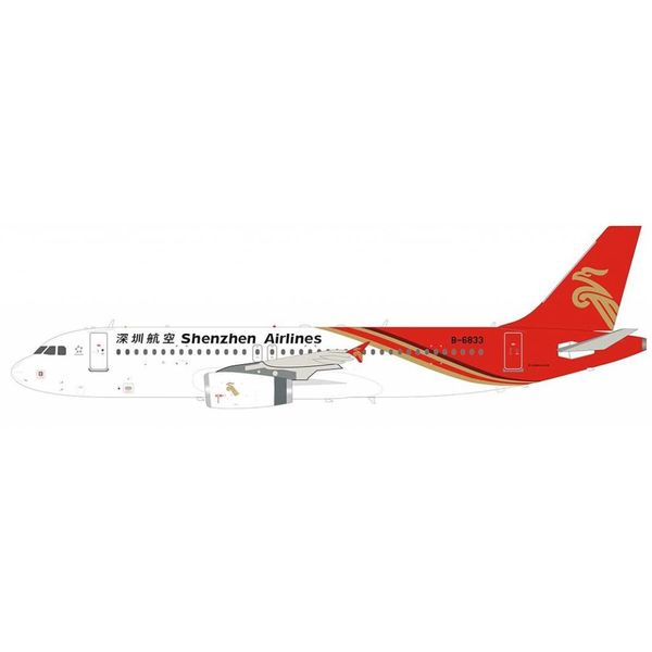 InFlight A320 Shenzhen Airlines B-6833 1:200 with stand