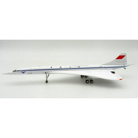 Concorde CAAC B-0772 1:200 with stand
