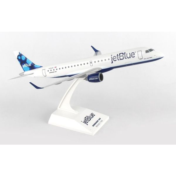 SkyMarks ERJ190 jetBlue Blueberries 1:100 with stand (no gear)
