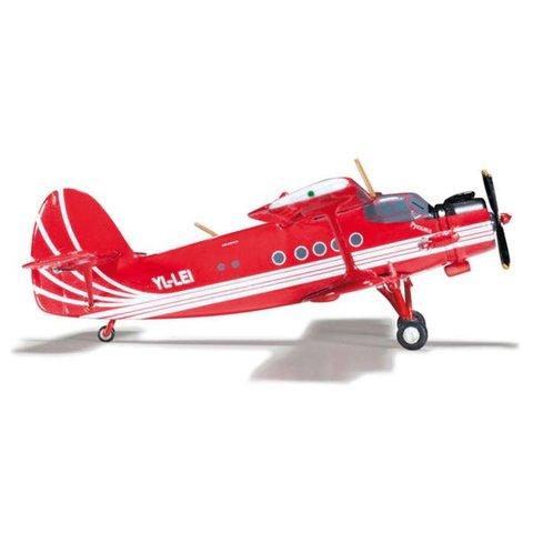 AN2 Colt Antonov Club Avianna YL-LEI 1:200 with stand