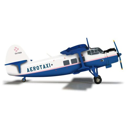 Herpa AN2 Aerotaxi CU-T1031 1:200 with stand