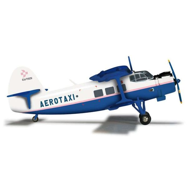 Herpa Herpa AN2 Aerotaxi CU-T1031 1:200 with stand