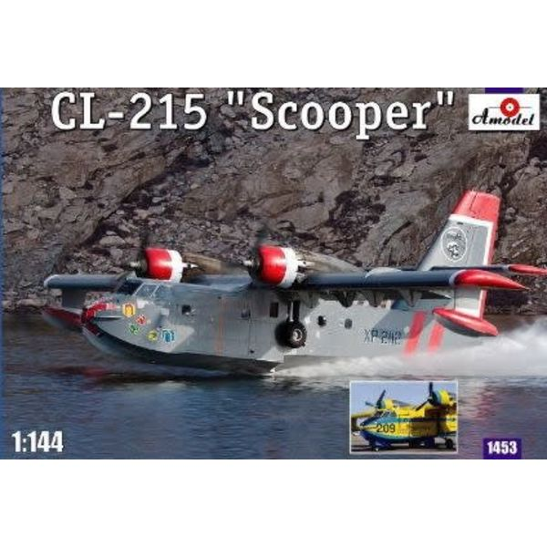 AMODEL CL-215 SCOOPER 1:144 Kit