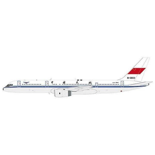 JC Wings B757-200 CAAC B-2803 1:400 with antenna