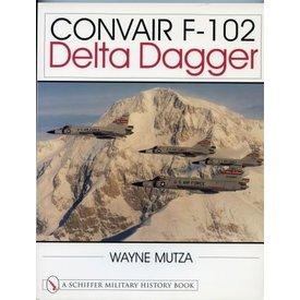 Schiffer Publishing Convair F102 Delta Dagger softcover (Schiffer)
