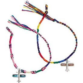 Friendship Bracelet With Airplane Charm