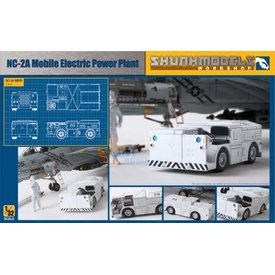 skunk models NC-2A Mobile Electric Power Plant 1:32 Scale Kit