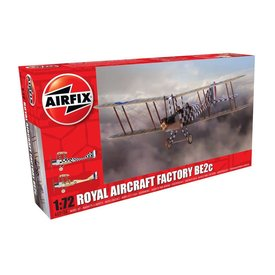 Airfix AIRFI ROYAL AIRCRAFT FACTORY BE2C SCOUT 1:72