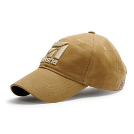 Red Canoe Brands Cap Cessna 3D Logo Tan