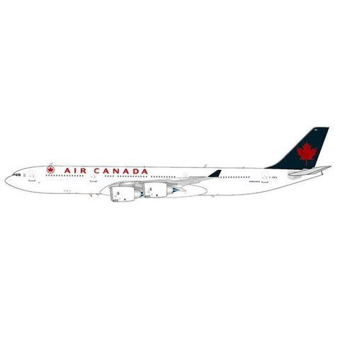 A340-500 Air Canada green tail 1993 livery C-GKOL with stand