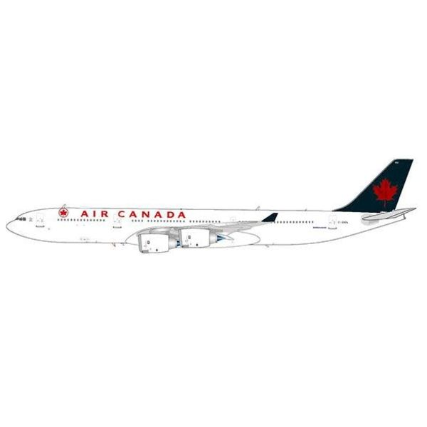 JC Wings A340-500 Air Canada green tail 1993 livery C-GKOL with stand