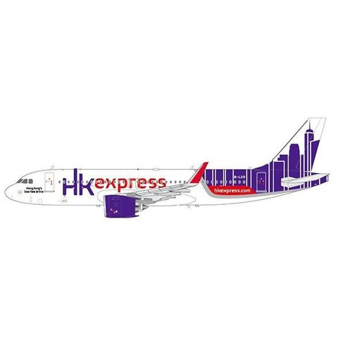A320neo Hong Kong Express B-LCO 1:200 with Stand**o/p**