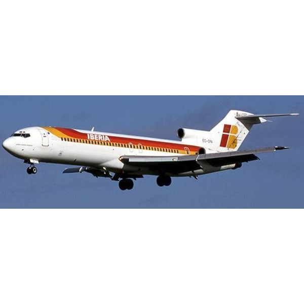JC Wings B727-200 Iberia old Livery EC-CFA with stand 1:200 with stand