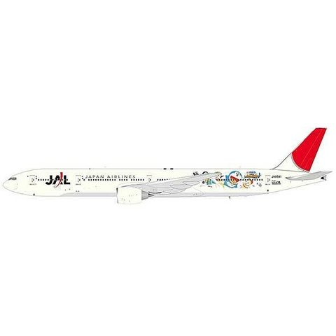 B777-300 JAL Doraemon JA8941 1:200 with stand
