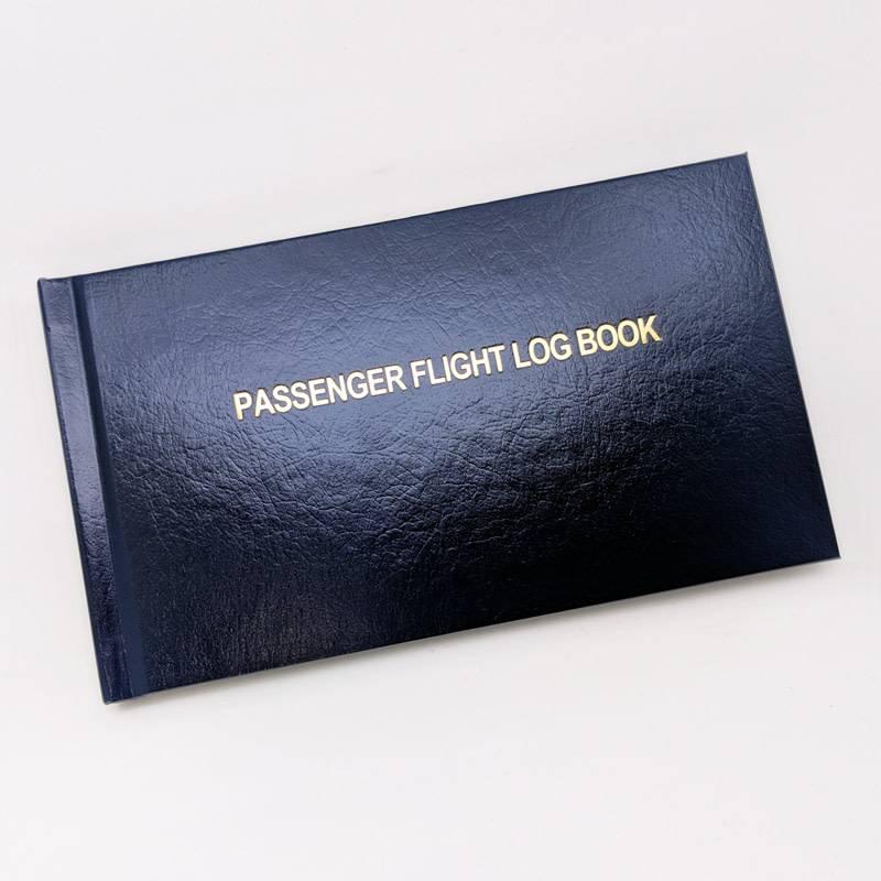 52971af3b8a Passenger Flight Log Book hardcover