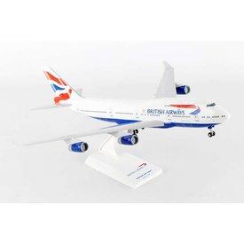 SkyMarks B747-400 British Airways 1:200 with Gear + Stand
