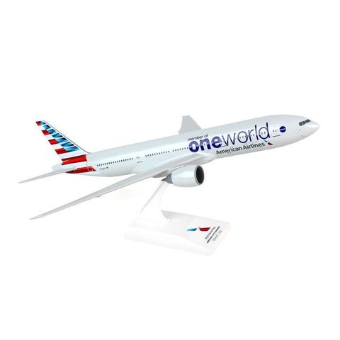 B777-200 American OneWorld New Livery 1:200 with stand