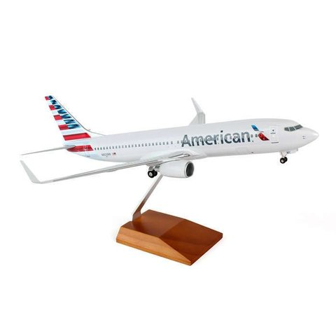 B737-800W American 2013 livery 1:100 Supreme with Gear+Stand