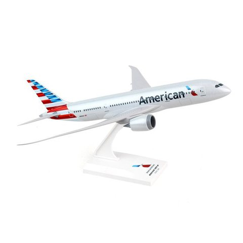 B787-8 American 2013 livery 1:200 with stand