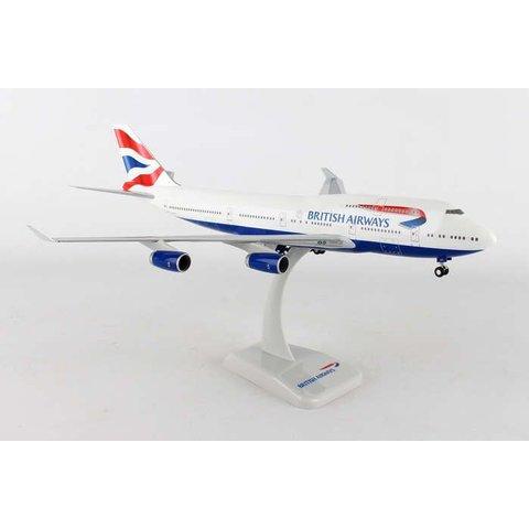 B747-400 British Airways G-CIVY 1:200 With Gear+stand