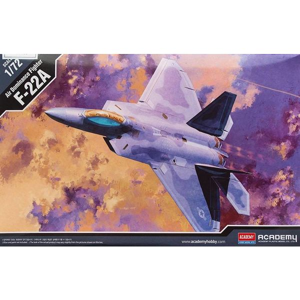 Academy ACDMY F22A AIR DOMINANCE FIGHTER 1:72
