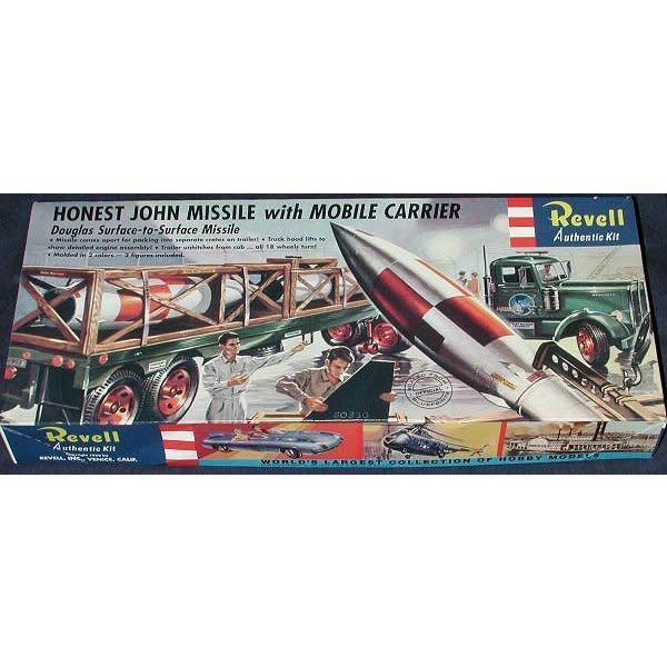 Revell Honest John Missile w/Mobile Carrier 1:54