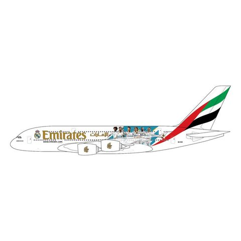 A380-800 Emirates Real Madrid livery A6-EUG 1:400 (19th release)