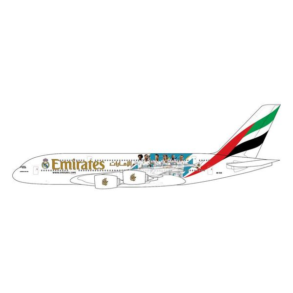 Gemini Jets A380-800 Emirates Real Madrid livery A6-EUG 1:400 (19th release)