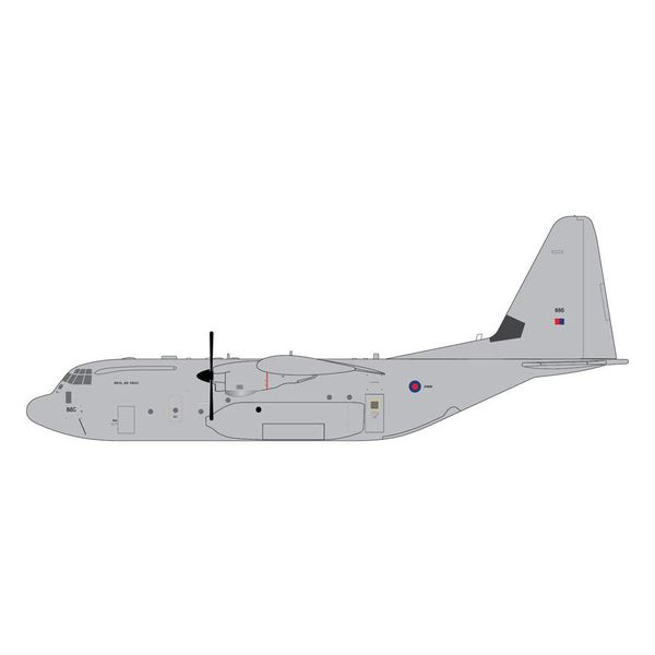 Gemini Jets C130J Hercules C5 RAF Royal Air Force ZH886 1:200 with stand