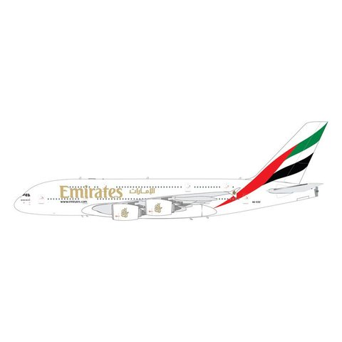A380-800 Emirates A6-EOZ 1:200 with stand (9th Release)