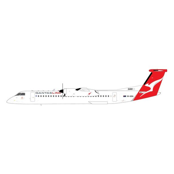 Gemini Jets dash8 Q400 QANTASLINK New Livery 2016 VH-QOA 1:200 with stand