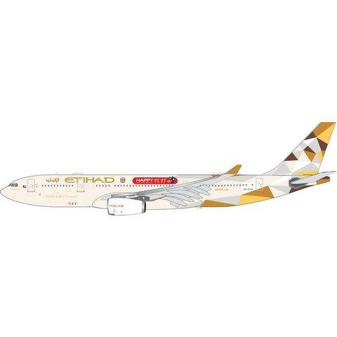 A330-200 Etihad Airways Happy 11.11, TMALL 2014 livery A6-EYH 1:400