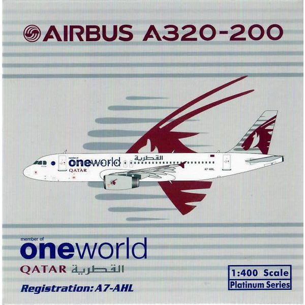 Phoenix A320 Qatar Oneworld A7-AHL 1:400