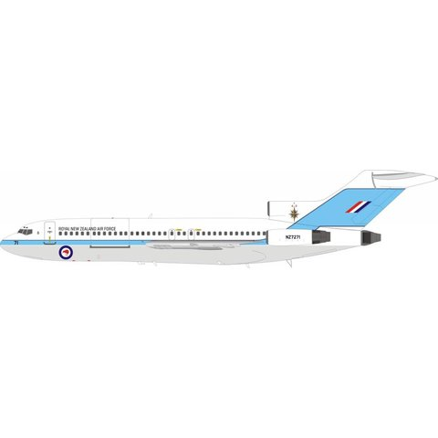 B727-100 Royal New Zealand Air Force NZ7271 1:200 with stand