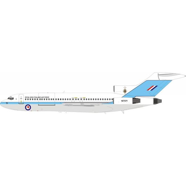 InFlight B727-100 Royal New Zealand Air Force NZ7271 1:200 with stand