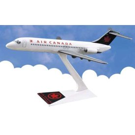 DC9-32 Air Canada 1993 livery Green tail 1:200 with stand
