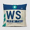 WS Throw Pillow