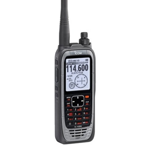 ICA25N Transceiver VHF Airband Handheld with GPS