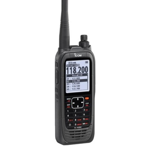 ICA25C Transceiver VHF Airband Handheld with GPS