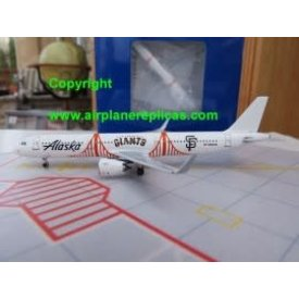 AeroClassics A321S Alaska Airlines San Francisco Giants N924VA 1:400