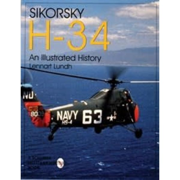 Schiffer Publishing Sikorsky H34: Illustrated History softcover
