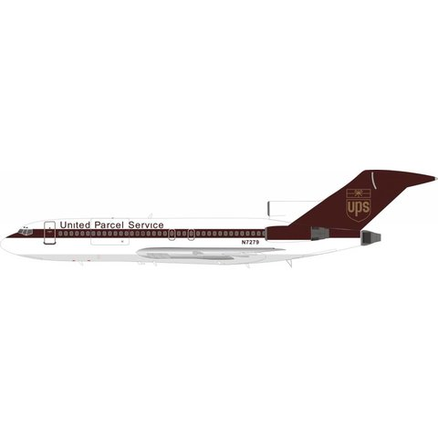 B727-100 UPS United Parcel Service N7279 1:200 with stand
