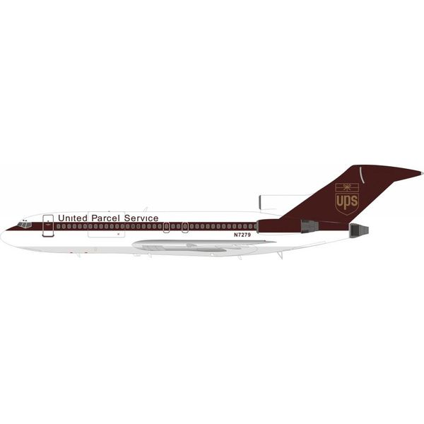 InFlight B727-100 UPS United Parcel Service N7279 1:200 with stand
