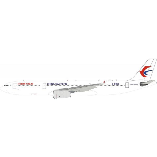 InFlight A330-300 China Eastern Airlines B-8968 1:200 with Stand